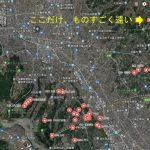 圃場を上から眺めてみた -Googleマイマップ(1)-