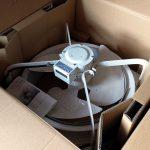 マイニング部屋の猛烈な熱さに工場用の換気扇