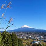 秋晴れ 富士山